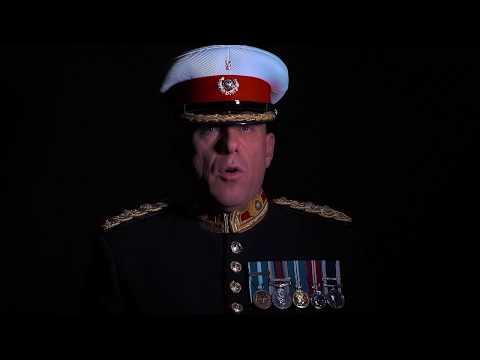 Interpretación Con Tambores De Los Royal Marines