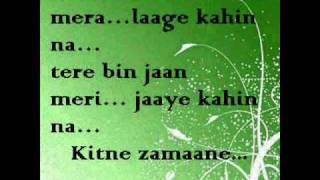 Love Song- Judaai/ Lambi Judaai (lyrics)