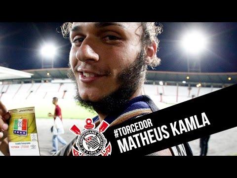 Matheus Kamla, mochileiro e corinthiano!