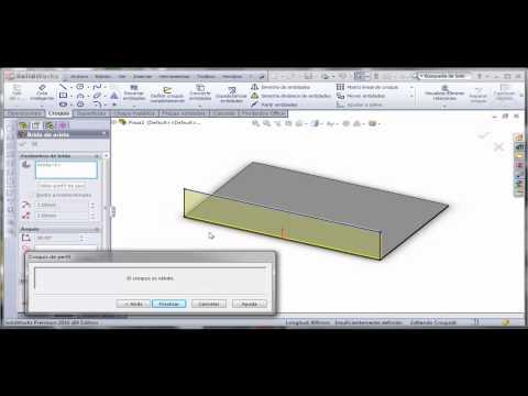 Tutorial SolidWorks 2010 Totalmente en español (18)