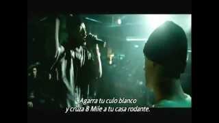 8 Mile B-Rabbit VS LC Lyckety-Splyt Subtitulos Español