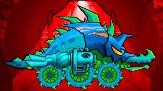 Car Eats Car 3 Машина ест машину #56 Хищные машины Аллигатор, Крокодил - мультик игра про машинки МК
