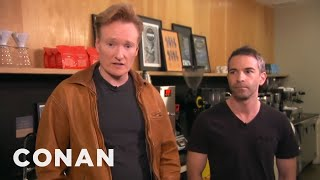 Conan Takes Jordan Schlansky Coffee Tasting - CONAN on TBS - Video Youtube