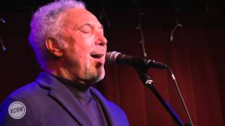 "Tom Jones performing ""Delilah"" Live at KCRW's Apogee Sessions"