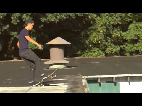 MASSIVE Rooftop Ollie Into Sketchy Bank!! - Behind The Clips - Dalton Dern