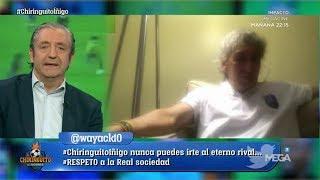 """'Mágico' González, en 'El Chiringuito': """"Es increíble que ME SIGAN RECORDANDO en Cádiz"""""""