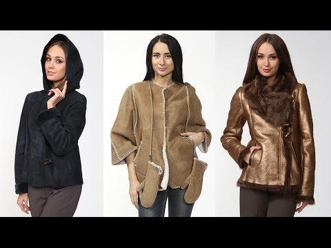 Модные женские дублёнки 2013-2014. Видеокаталог