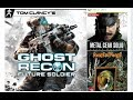 3 Jogos Novos Na Retro Ghost Recon Future Soldier Metal