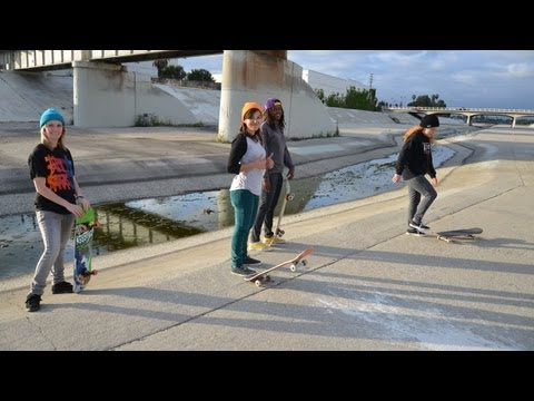 Blog Cam #54 - 605 Ditch & Downey Skatepark