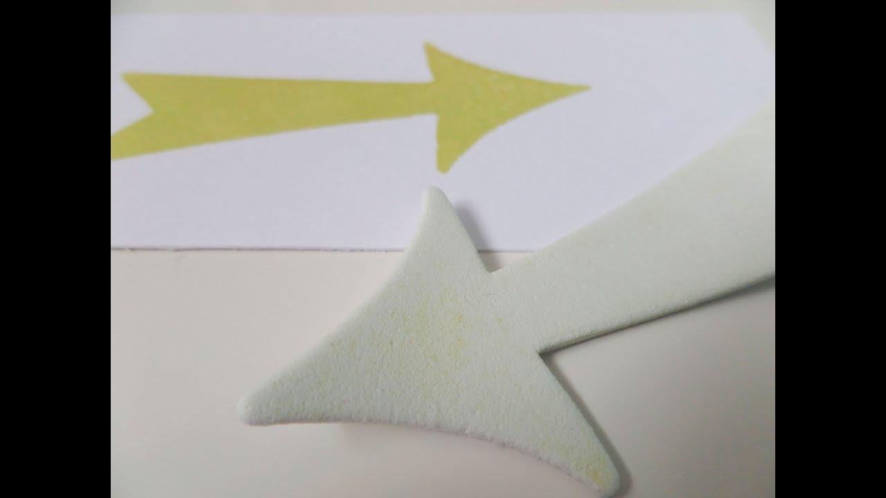 Cómo hacer sellos con goma eva