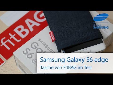 Samsung Galaxy S6 edge Hülle Tasche von FitBAG