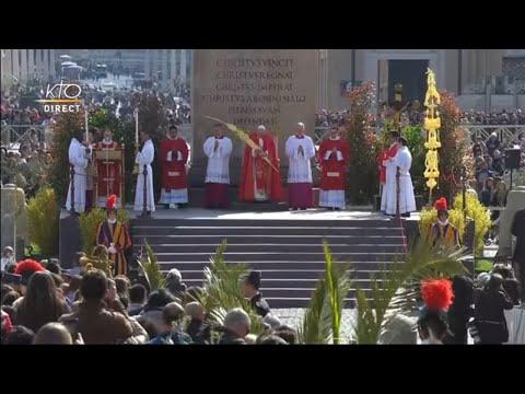 Messe des Rameaux et de la Passion du Seigneur suivie de l'Angélus