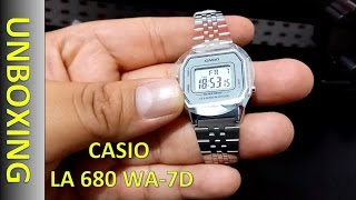 Casio LA680WA-7D Lady's Watch -  Reloj Digital Dama