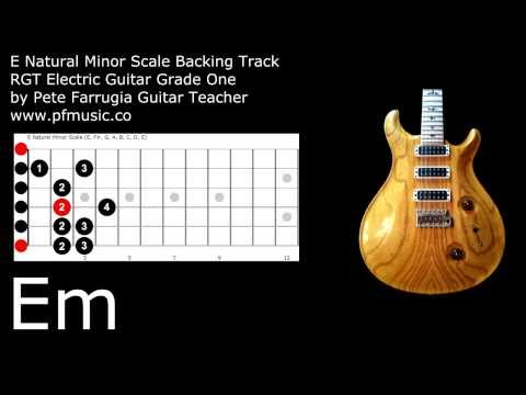 RGT Grade 1 Electric Guitar Backing Tracks - Registry of