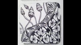 Easy Zentangle - Meditative  Art - A-Dalfa