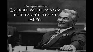 John Gotti (aka The Teflon Don) of the Gambino Crime Family