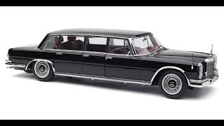 CMC Mercedes-Benz 600 (W 100), Pullman Limousine, Long Chassis