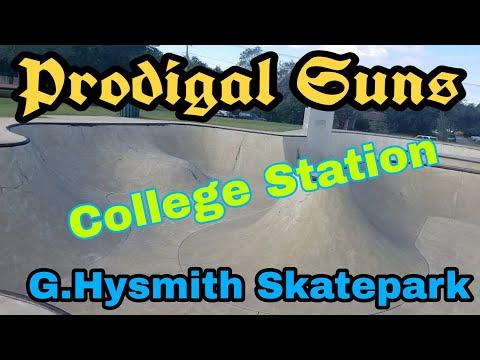 G.Hysmith Skate Park College Station Texas Walk Through