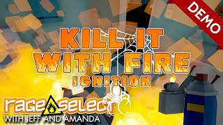 Kill It With Fire: Ignition - The Dojo (Let's Play)