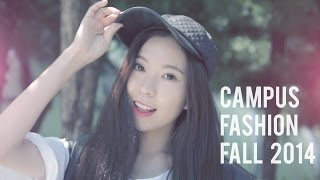 CAMPUS FASHION | Back To School 2014 Fall Outfits