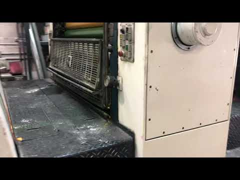 1986 Komori Lithrone 440