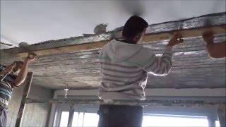 תקרת בטון חשוף - איך לבצע חיפוי תקרה בבטון חשוף