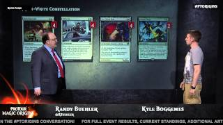 Pro Tour Magic Origins Deck Tech: Green White Constellation with Kyle Boggemes