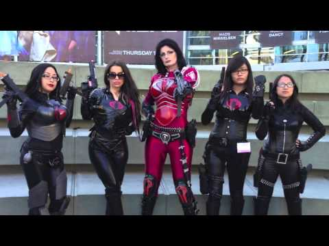 GI Joe Baroness Costume Video