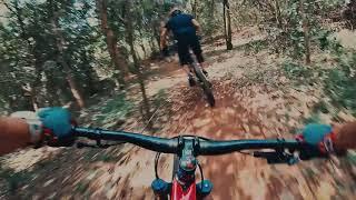MTB Riders meet FPV Drone - Trek Gunung Pinang