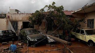 Наводнение и траур в Греции