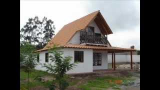 CASA PREFABRICADA TIPO CHALET 111m2 ECUADOR
