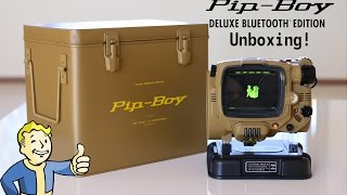 Pip-Boy Deluxe BlueTooth Unboxing!