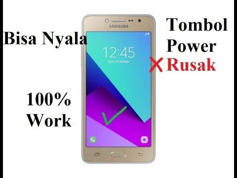 Video Cara menyalakan hp Samsung semua merek tanpa tombol power/tombol power rusak 100% work