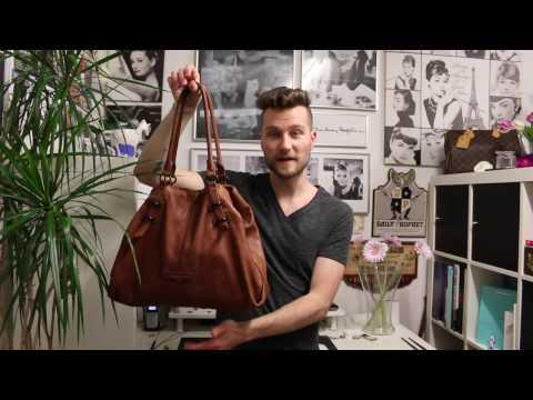Taschen reinigen mit Sattelseife :: Liebeskind - Priscilla