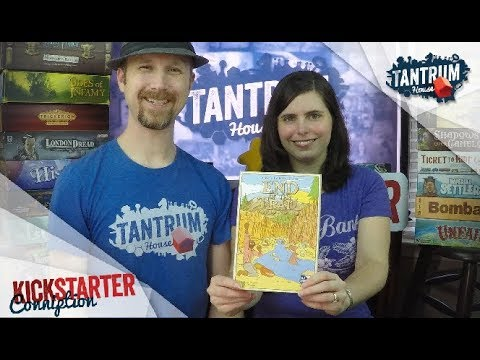 End of the Trail Board Game Preview