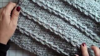 How To Crochet A Mock Cable Baby Blanket