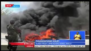 Maandamano Kilifi huku kundi  moja likimtaka Uhuru na Ruto kujiondoa