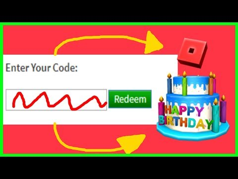 Roblox - 12th Birthday Cake Hat (Promo Code Expired) - игровое видео