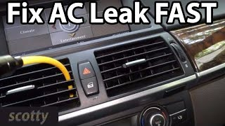 How To Find Car Ac Leaks Fast