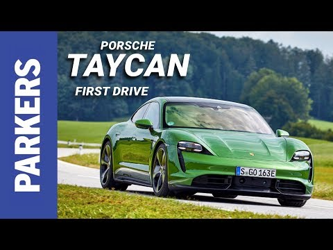 Porsche Taycan Saloon Review Video