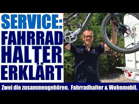 Fahrradträger oder Fahrradhalter am Wohnmobil richtig benutzt. So geht es.