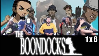 """The Boondocks 1 x 6 Reaction! """"The Story Of Gangstalicious"""""""