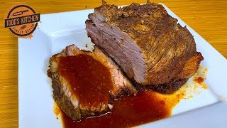 How To Cook BEEF BRISKET Recipe In A Slow Cooker Crock Pot 4K