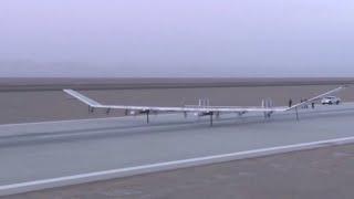 China's Solar Powered UAV