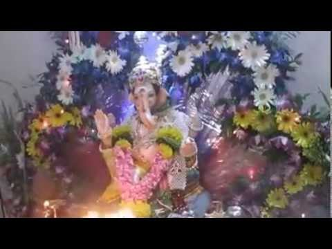 Milind Bavle Home Ganpati Decoration Video