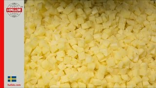 Potatoes: Dicing Grid 12×12 mm