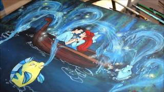 Speed Painting With AmberSkies: The Little Mermaid!