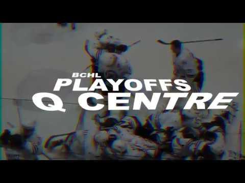 BCHL Playoffs Round 1 Game 7 2014 Throwback