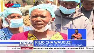 Wauguzi hospitali ya Pumwani wamelezea hofu yao kutokana na maambukizi ya virusi vya Corona