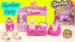 Shopkins Season 5 Playset Slumber Party Fun Collection  Cookieswirlc Video